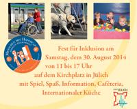 Teaser Fest für Inklusion in Jülich