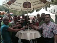 Bierbörse auf dem Jülicher Schlossplatz