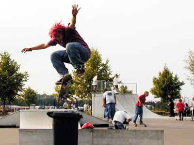 Bild: Jugendliche Skater