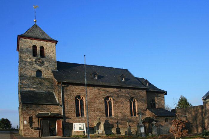 Grafik: Kirche Bourheim, Heilige Maurische Märtyrer