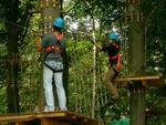 Klettern im Brückenkopf-Park