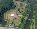 Luftbild Dr. Eckardt, Brückenkopf-Park