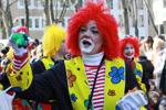 Karneval Clown Olga Litnovskaya
