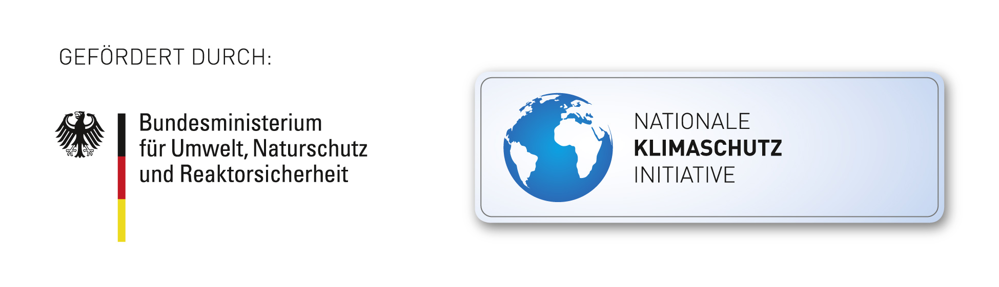 Logo BMU, Nationale Klimaschutz Initiative