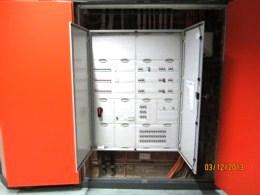 Elektro Unterverteiler geöffnet
