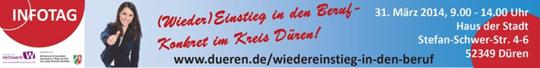Infotag (Wieder)Einstieg in den Beruf - Konkret im Kreis Düren!