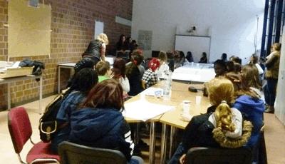 Gruppenfoto alle Teilnehmer des Projektes (Foto: Stadt Jülich)