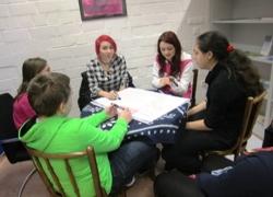 gemischte Arbeitsgruppe in der Diskussion (Foto: Stadt Jülich)
