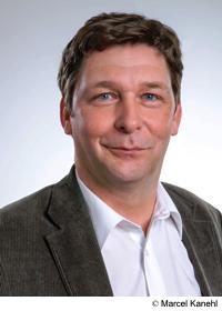 Grafik: Bild des Bürgermeisters Axel Fuchs