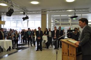 Eröffnung Bürgermeister Fuchs