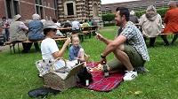 Renaissance-Picknick in der Zitadelle