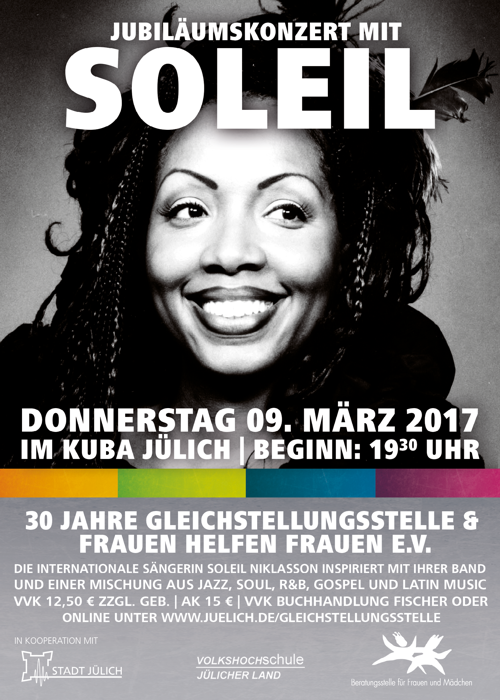 Jubiläumskonzert Soleil