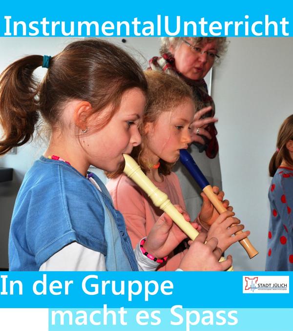 Instrumentalunterricht in Gruppen