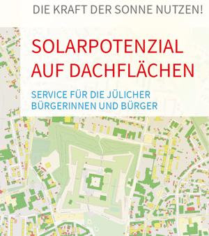 Sonnenenergiepotenzial aller Jülicher Dächer