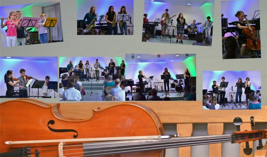 Collage Musikschule