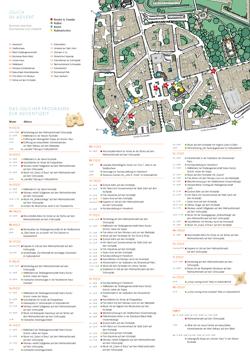 Jülich im Advent - Kunst & Kultur - Termin- und Wegeplan