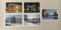 Postkartenset Fotos Winter