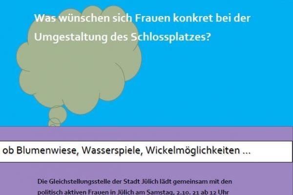 Bild: Plakat Schlossplatzbegehung