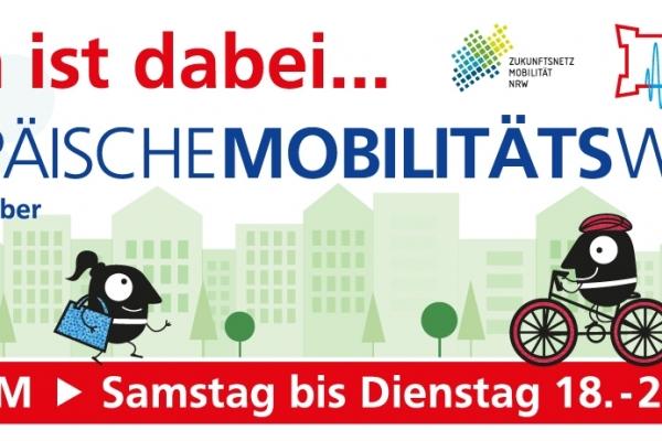 Bild: Das Banner zur autoarmen Innenstadt vom 18. - 21.09.2021