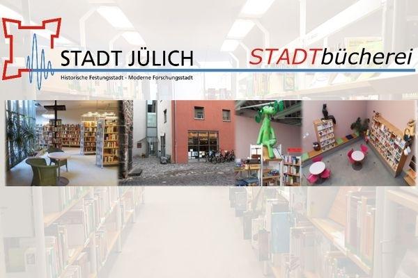 Bild: Collage der Stadtbücherei Jülich