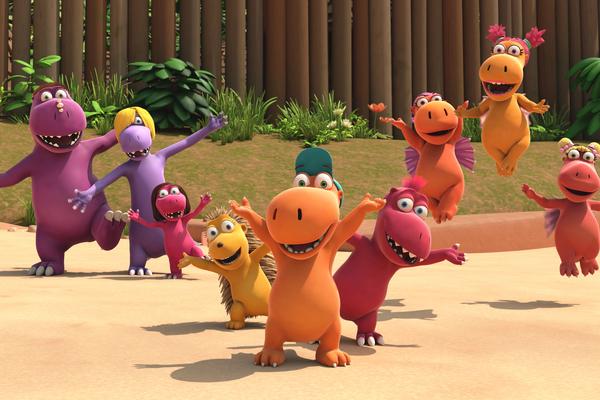Bild: Der kleine Drache Kokosnuss und seine Freunde