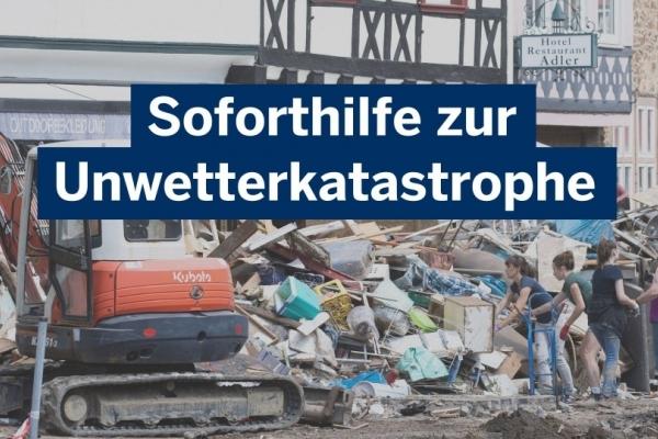 Bild: Soforthilfe. Land NRW/Ralph Sondermann
