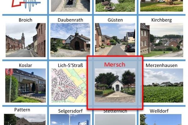 Bild: Dorfentwicklungskonzept - Mersch