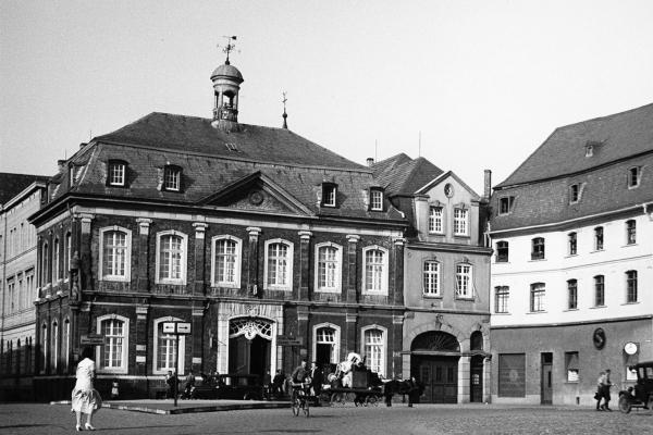 Bild: Jülicher Rathaus 1933 (Foto: Stadtarchiv Jülich)