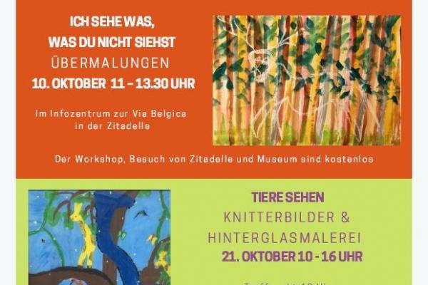 Bild: Plakat zum Kulturrucksack am 10. und 21.10.2021