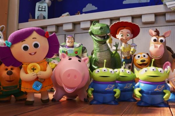 Bild: Gruppenbild der Trickfilmfiguren