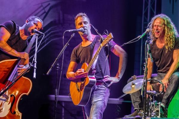 Bild: Die Band Lagerfeuer Trio