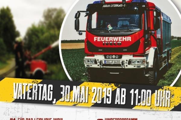 Bild: Das Plakat zum Tag der offenen Tür der Löschgruppe Welldorf