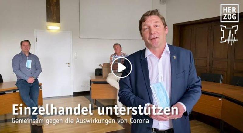Videobotschaft Axel Fuchs