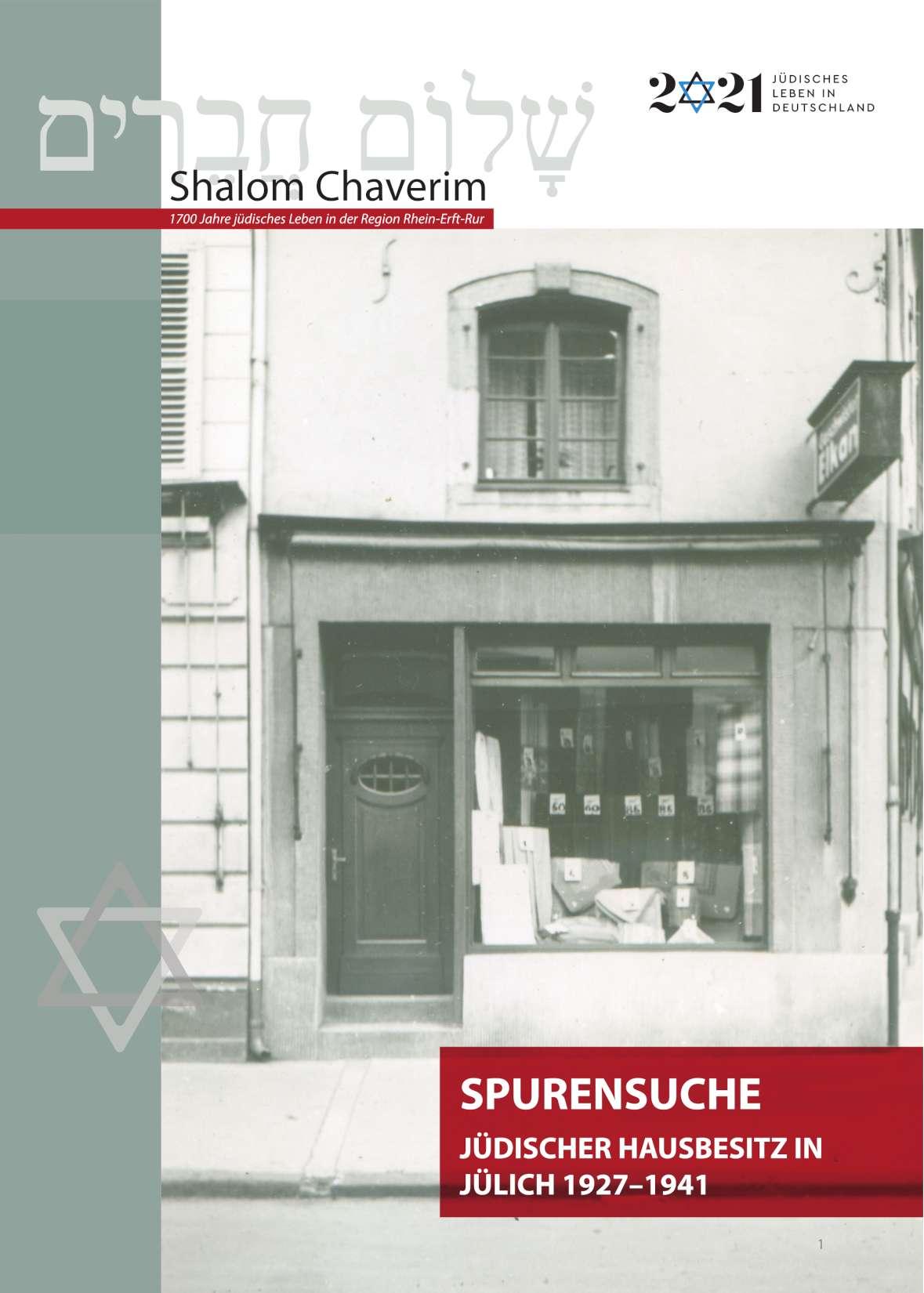 Begleitheft zur Ausstellung Shalom Chaverim
