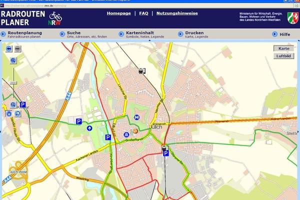 Grafik: Routenplaner