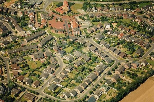 Luftaufnahme von Dr. Eckardt