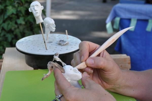 Impressionen Kunsthandwerkerinnen-Markt